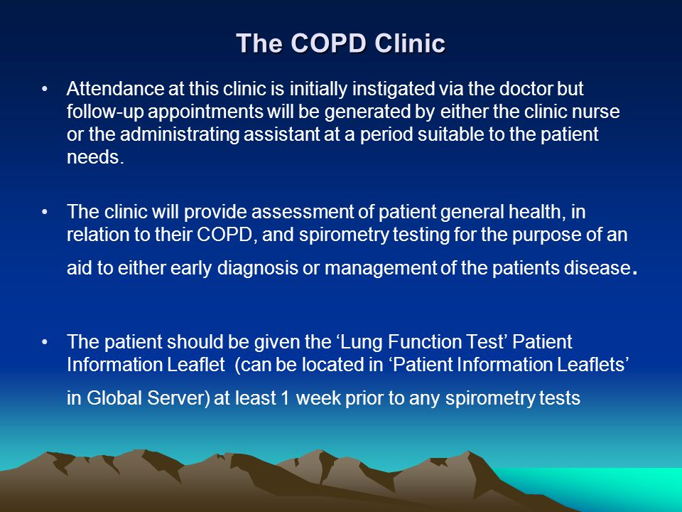 The COPD Clinic