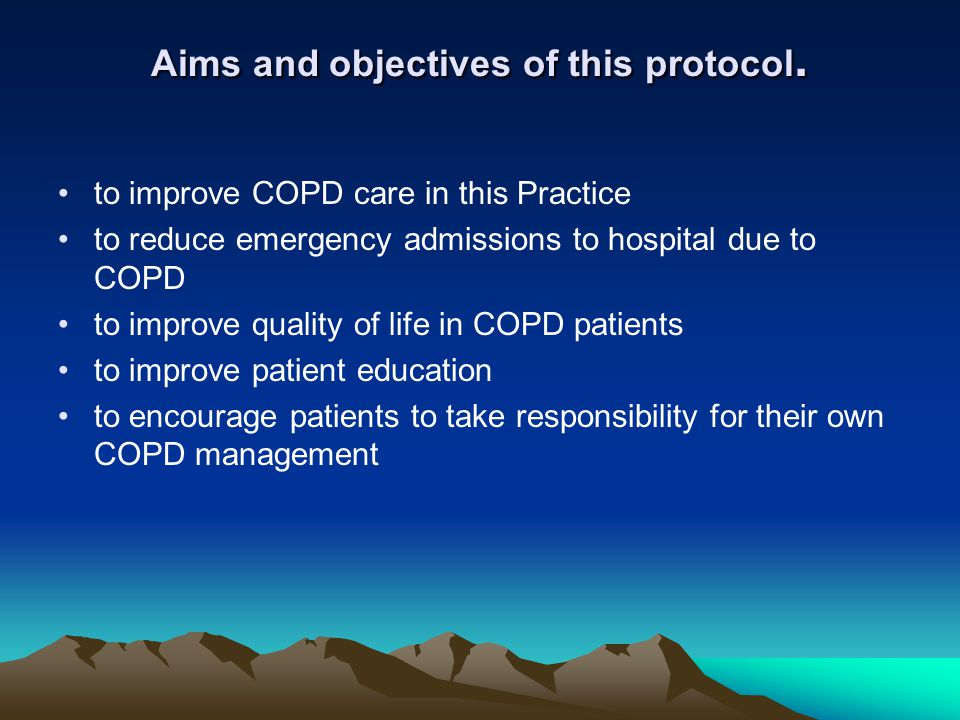 Aims and objectives of this protocol.