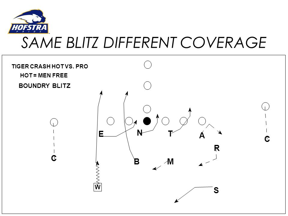 SAME BLITZ DIFFERENT COVERAGE