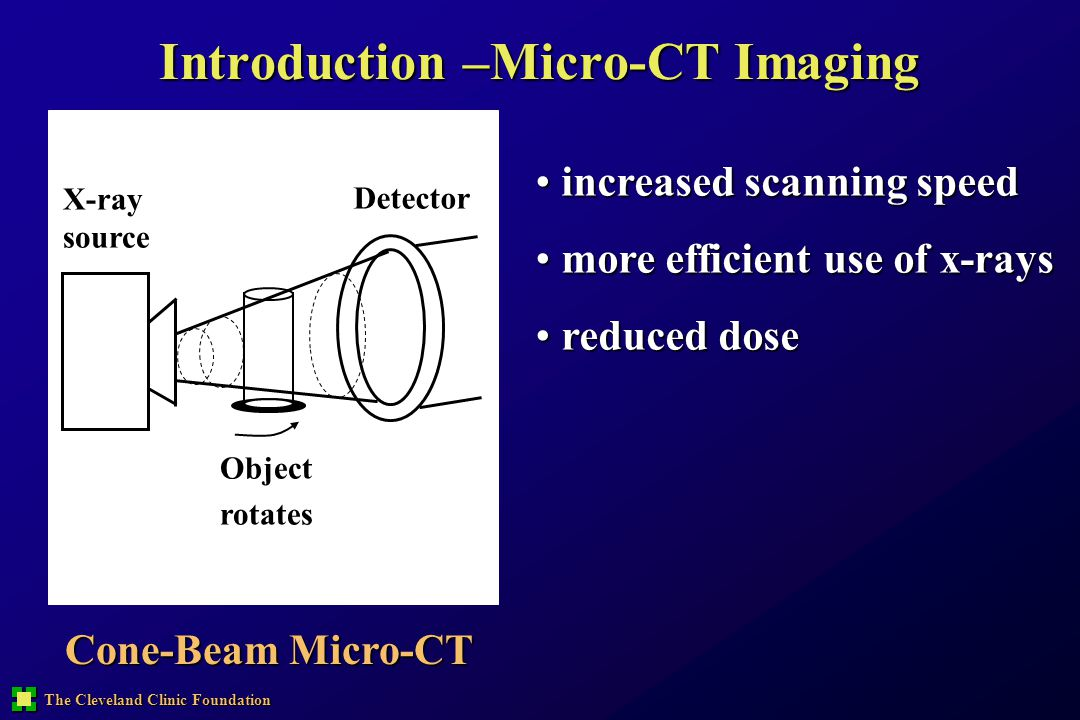 Introduction –Micro-CT Imaging