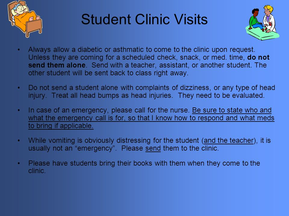Student Clinic Visits