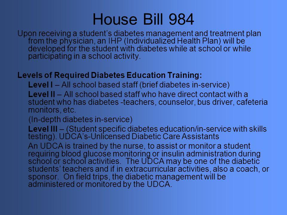 House Bill 984