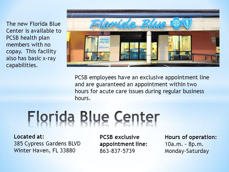 Florida Blue Center The new Florida Blue
