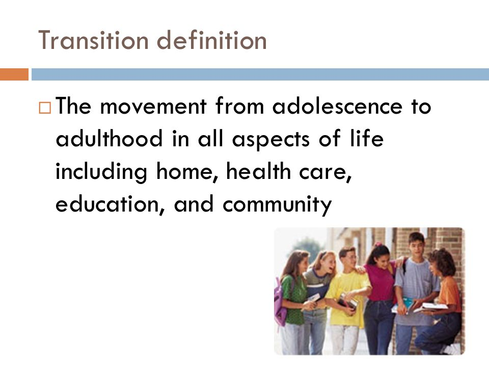 Transition definition