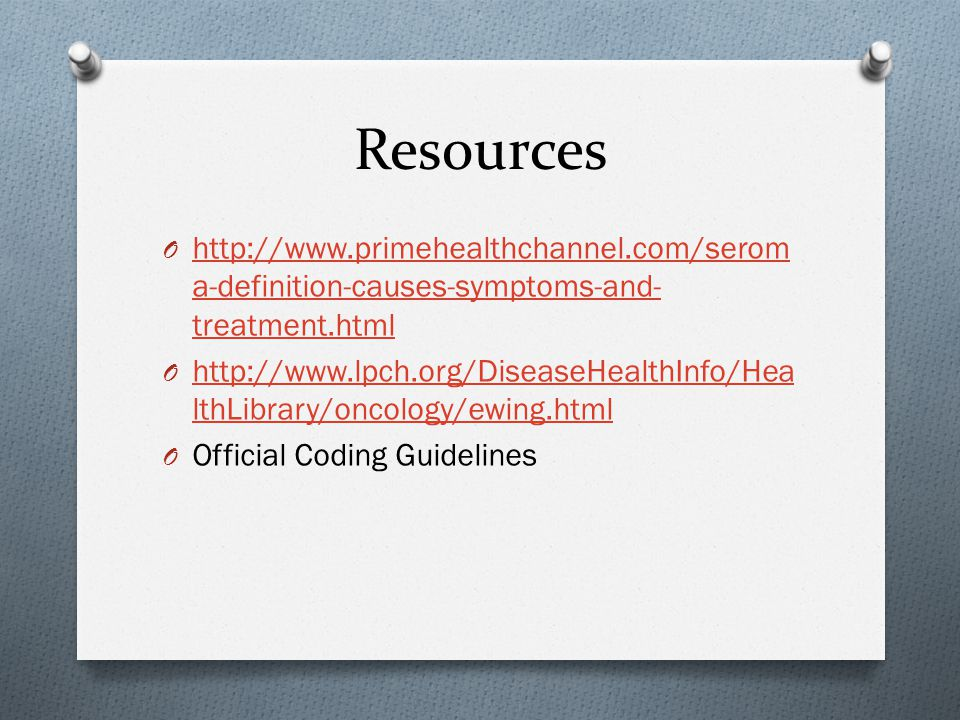Resources http://www.primehealthchannel.com/seroma-definition-causes-symptoms-and-treatment.html.