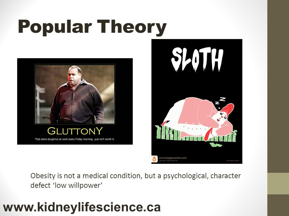 Popular Theory www.kidneylifescience.ca