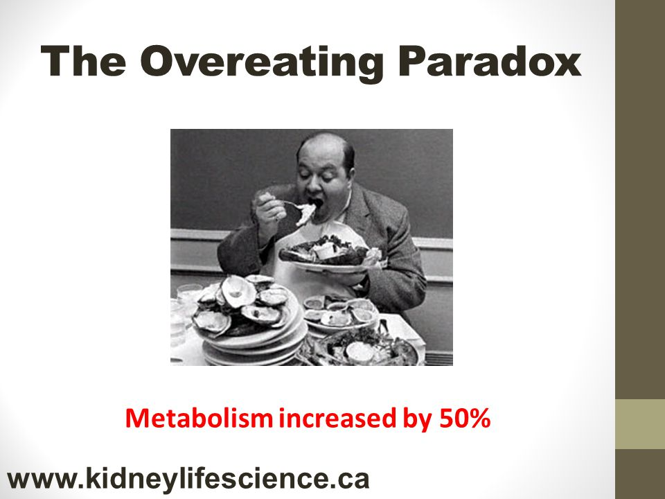 The Overeating Paradox