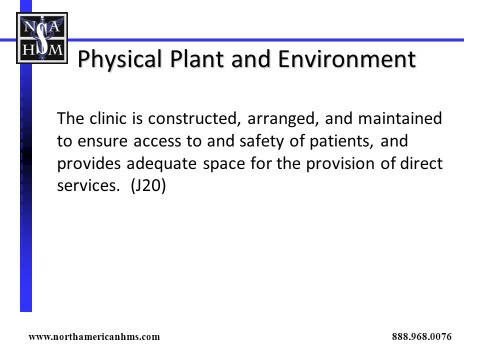 Physical Plant and Environment