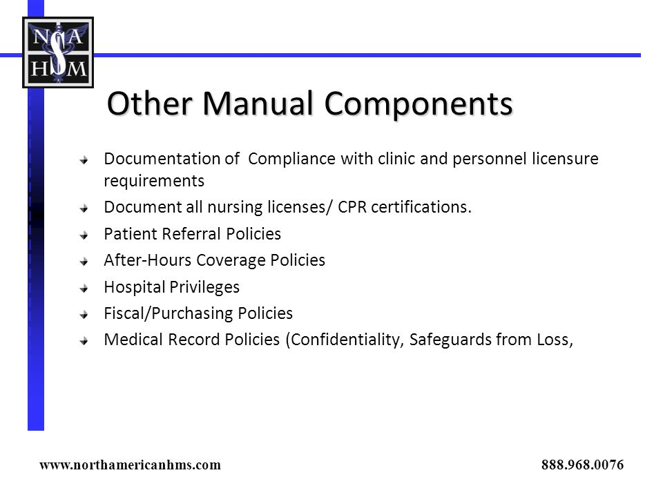 Other Manual Components