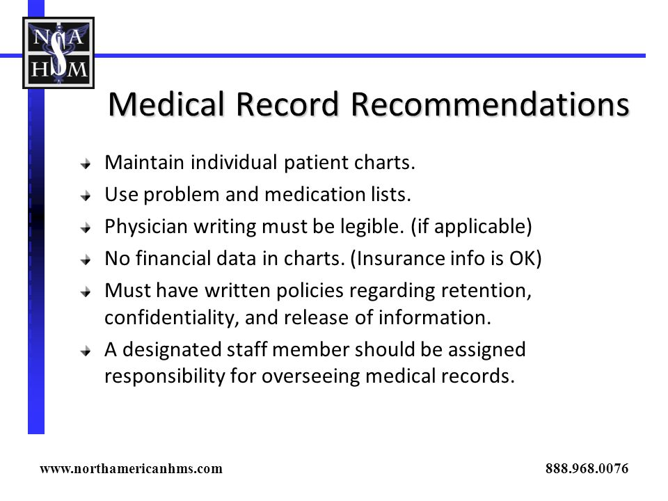 Medical Record Recommendations