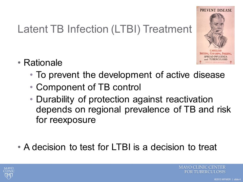 Latent TB Infection (LTBI) Treatment