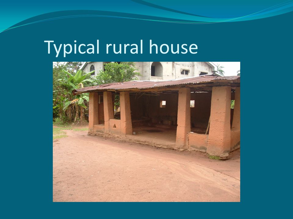 Typical rural house