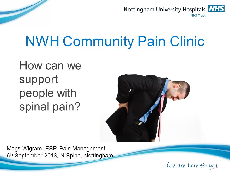 NWH Community Pain Clinic
