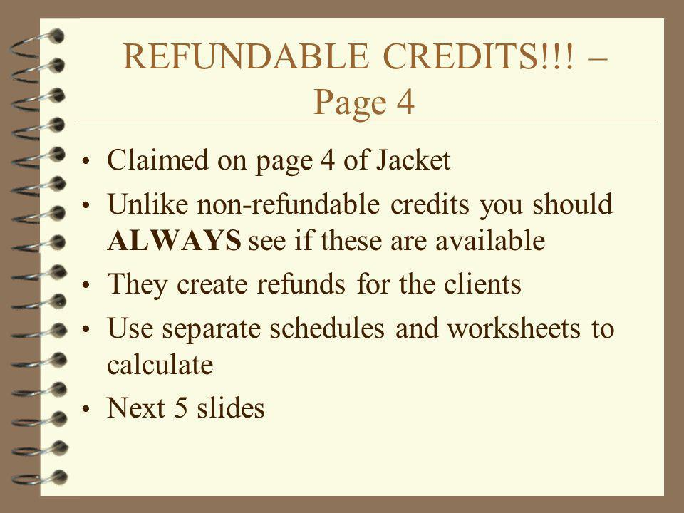 REFUNDABLE CREDITS!!! – Page 4