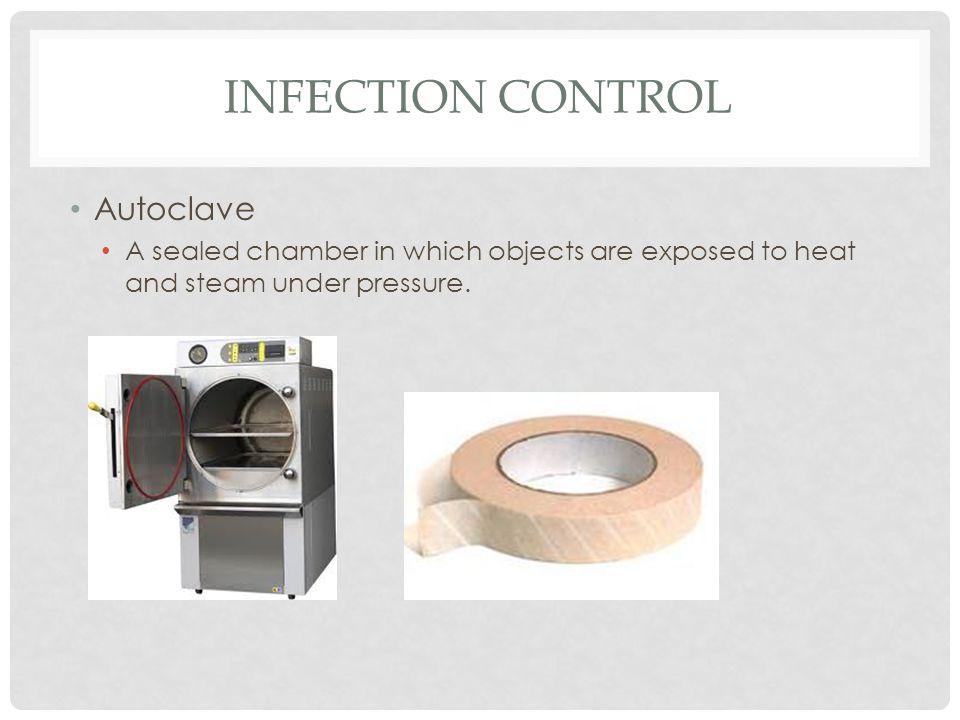 Infection control Autoclave