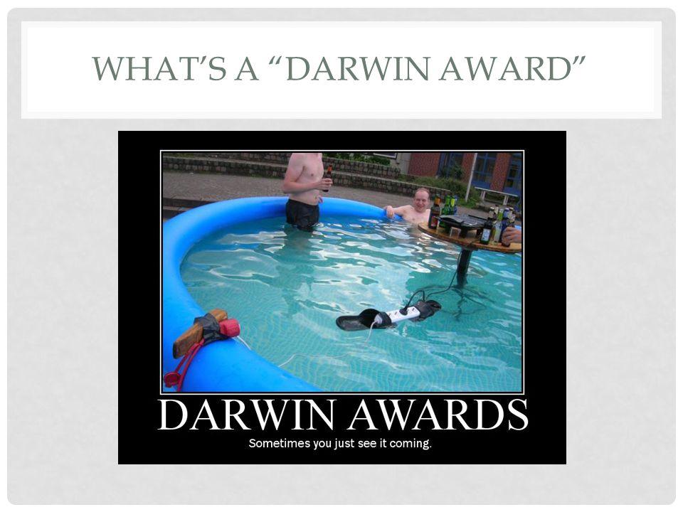 What's a darwin award