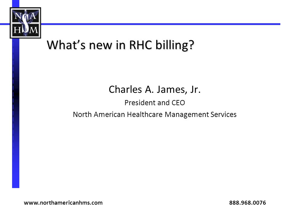 What's new in RHC billing