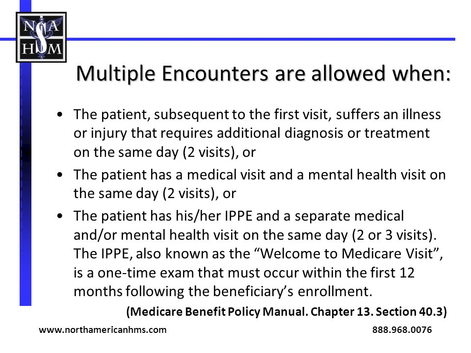 Multiple Encounters are allowed when: