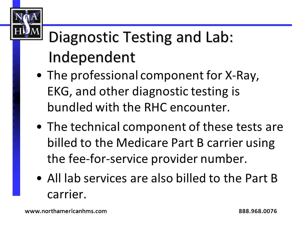 Diagnostic Testing and Lab: Independent