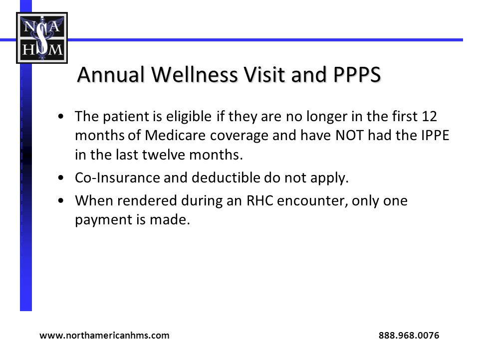 Annual Wellness Visit and PPPS