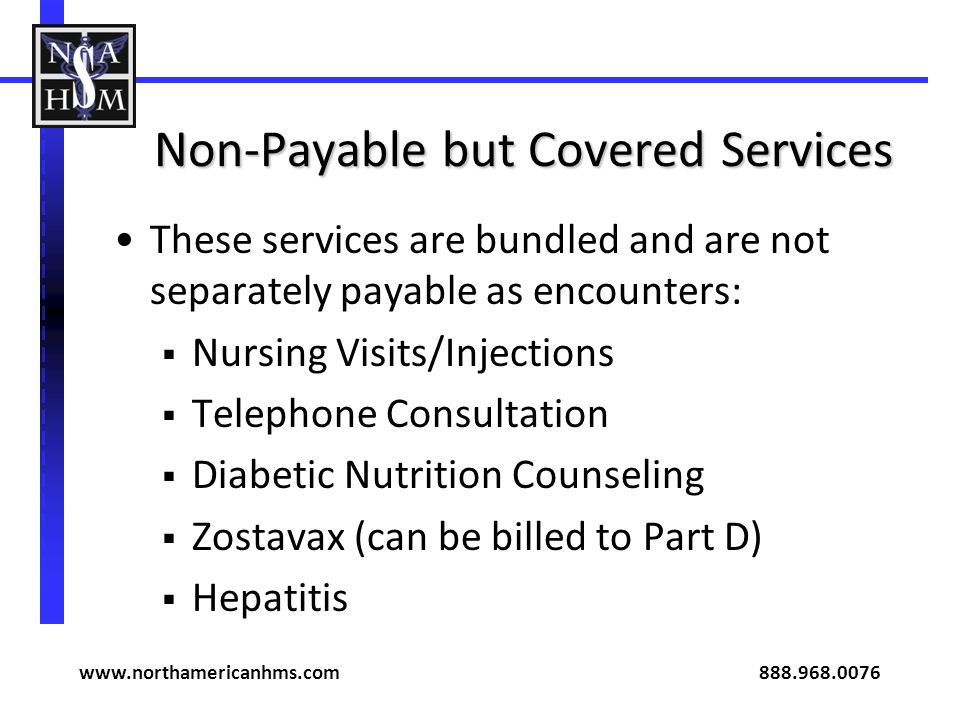 Non-Payable but Covered Services