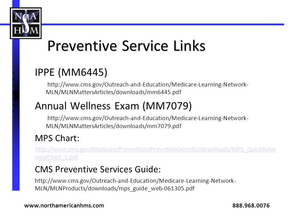 Preventive Service Links