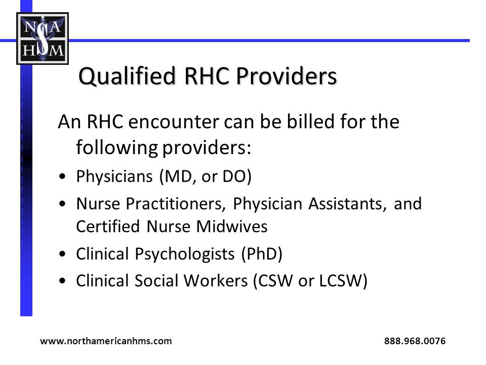 Qualified RHC Providers