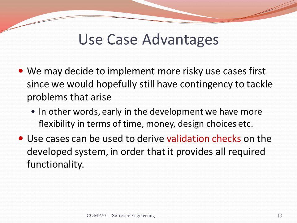 Use Case Advantages