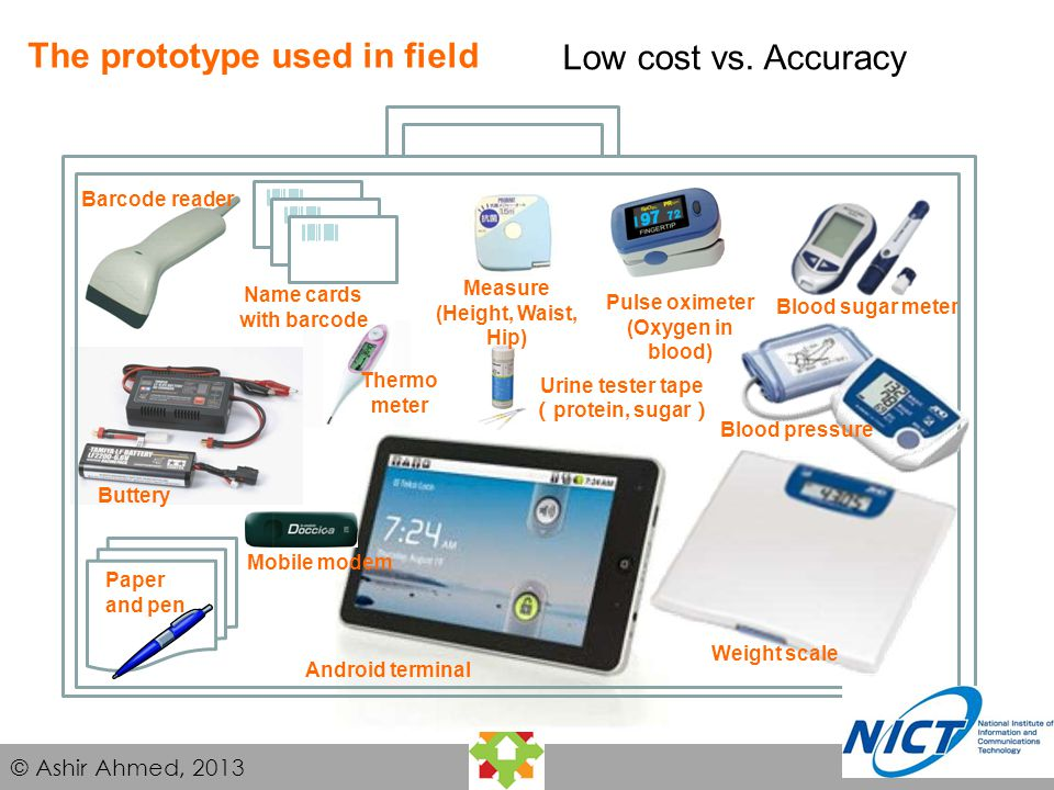 Accuracy of the sensors: Concept of Triage to convince the patient