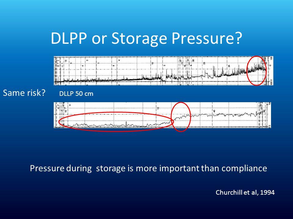DLPP or Storage Pressure