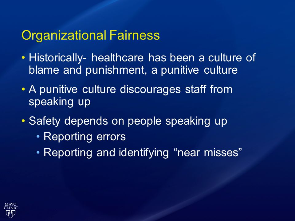 Organizational Fairness