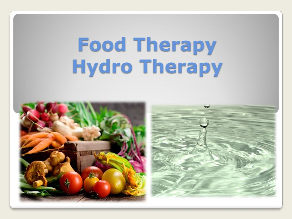 Food Therapy Hydro Therapy