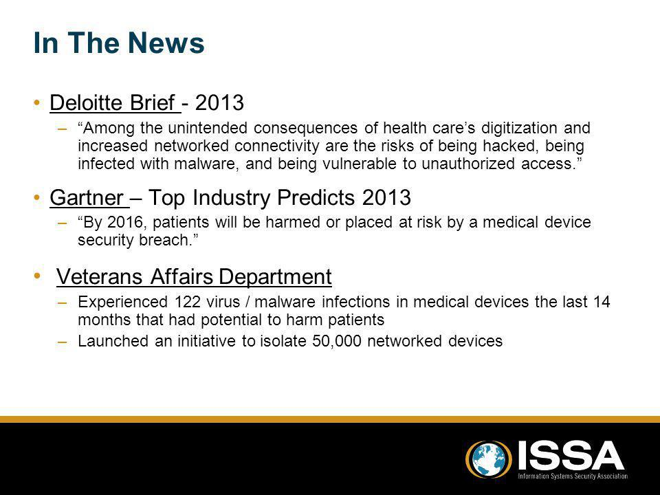 In The News Veterans Affairs Department Deloitte Brief - 2013