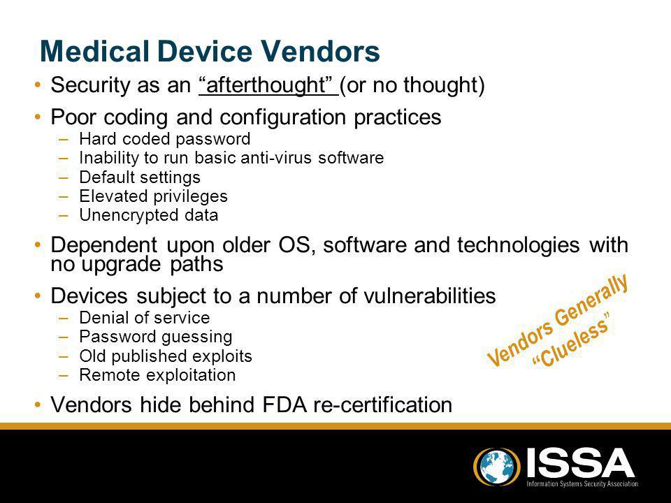 Medical Device Vendors