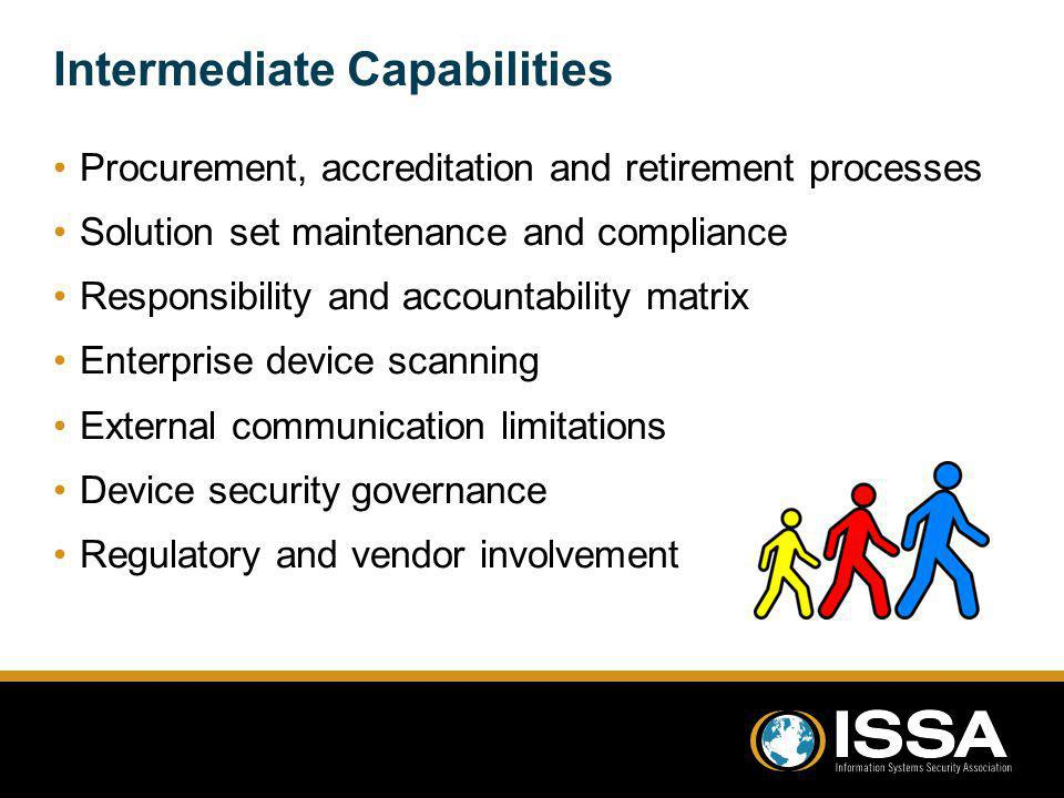 Intermediate Capabilities