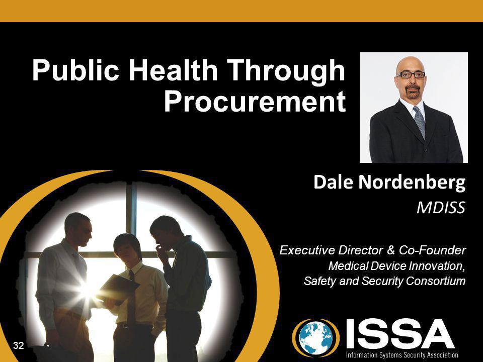 Public Health Through Procurement
