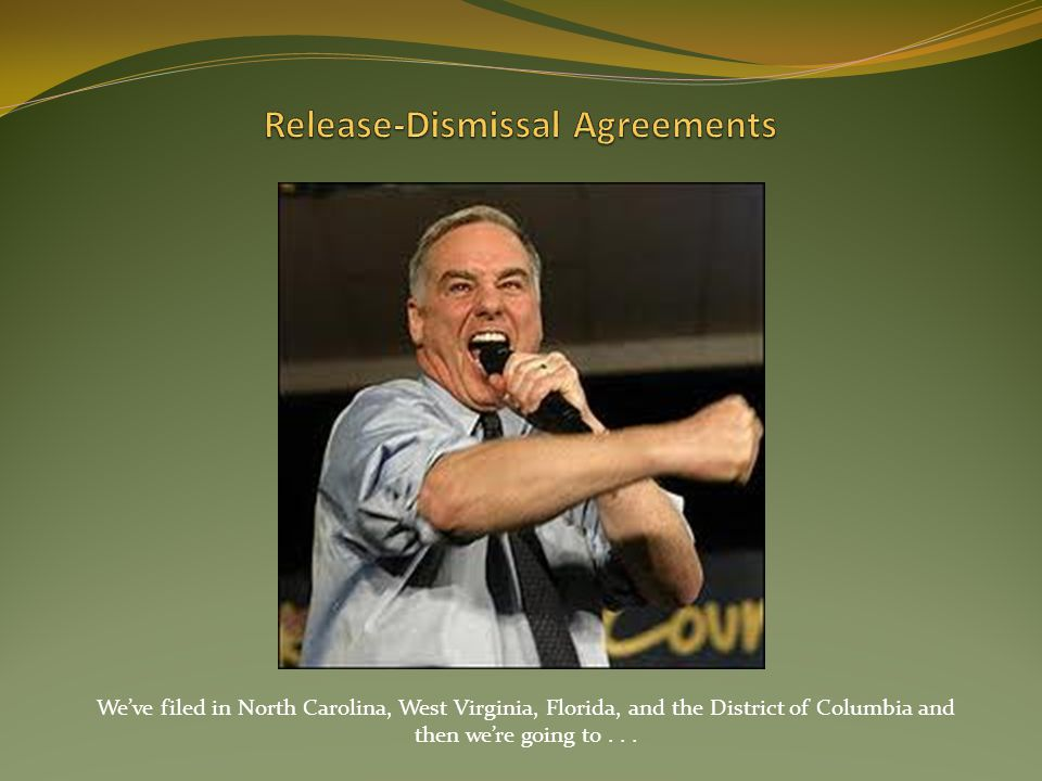 Release-Dismissal Agreements