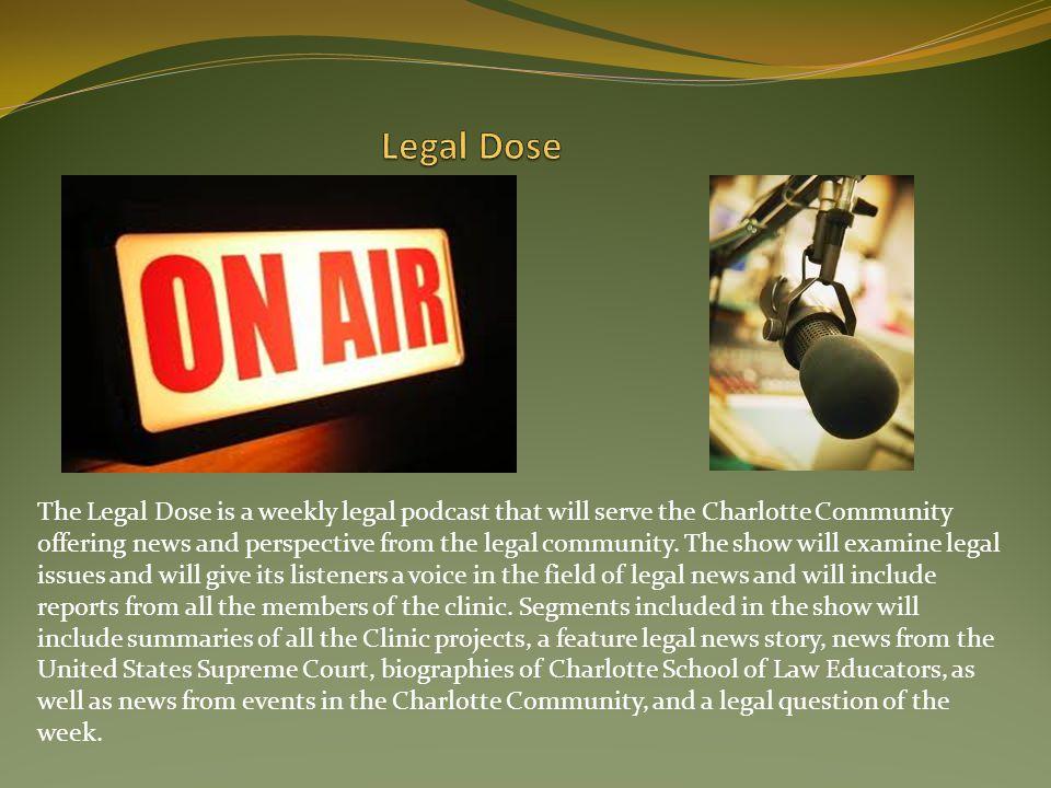 Legal Dose