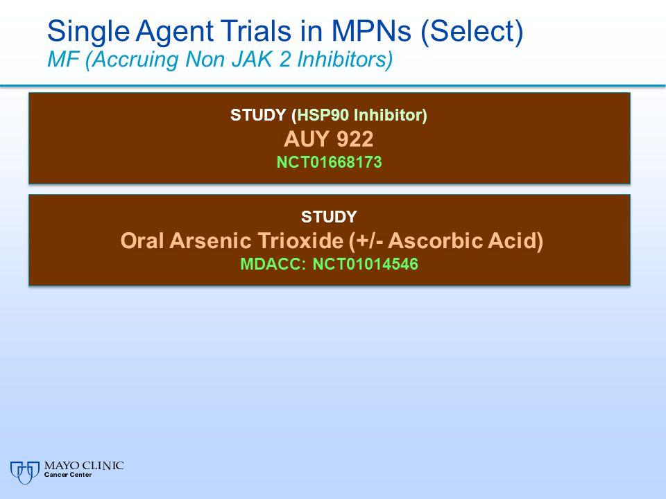 Oral Arsenic Trioxide (+/- Ascorbic Acid)