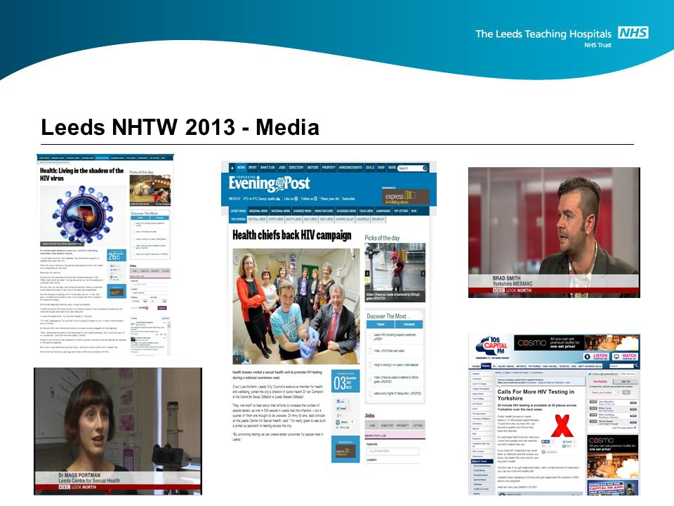 Leeds NHTW 2013 - Media