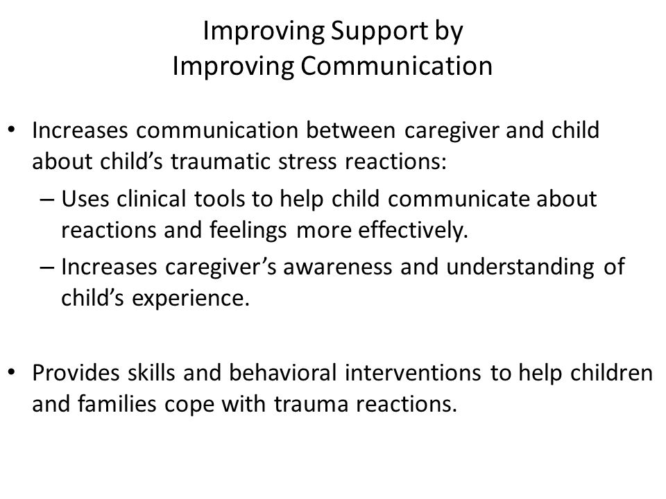 Improving Support by Improving Communication