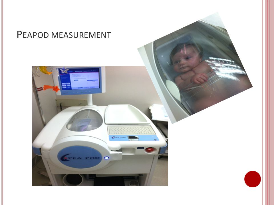 Peapod measurement