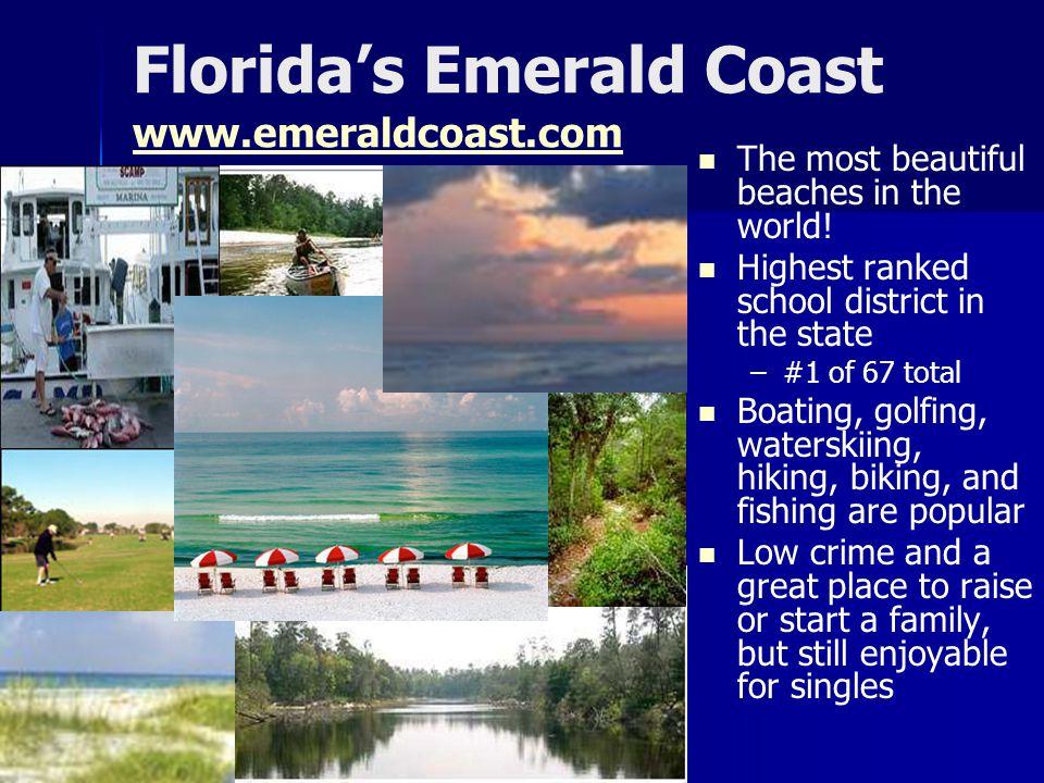 Florida's Emerald Coast www.emeraldcoast.com