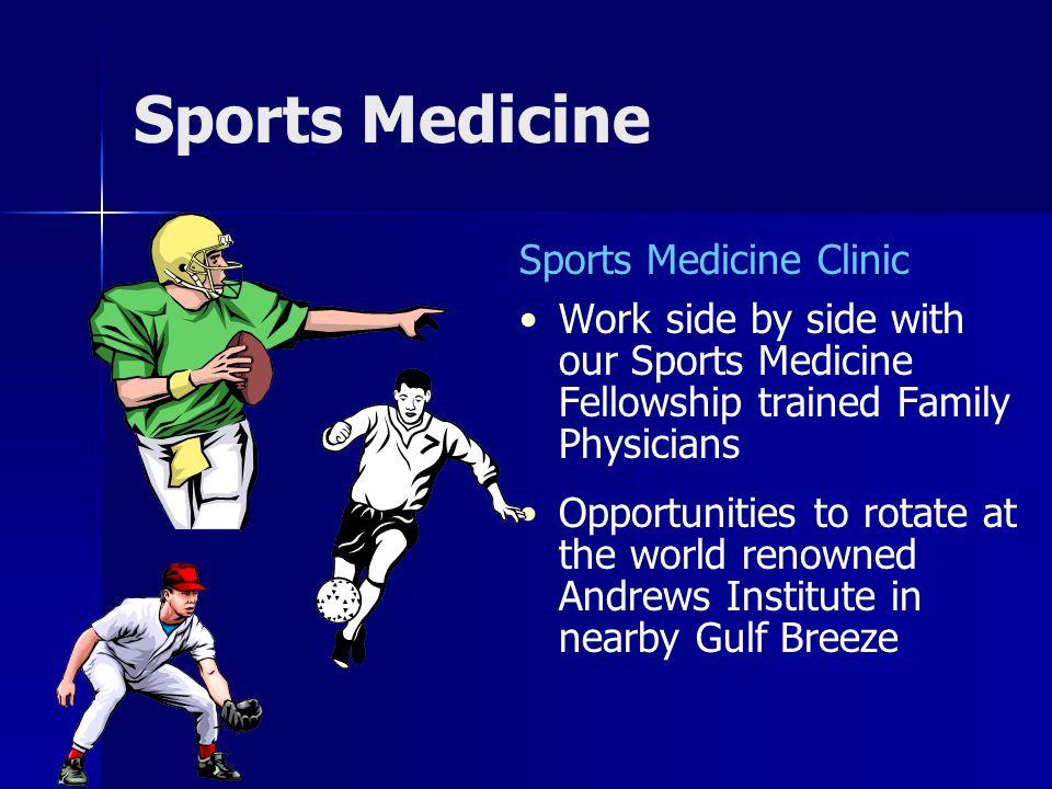 Sports Medicine Sports Medicine Clinic