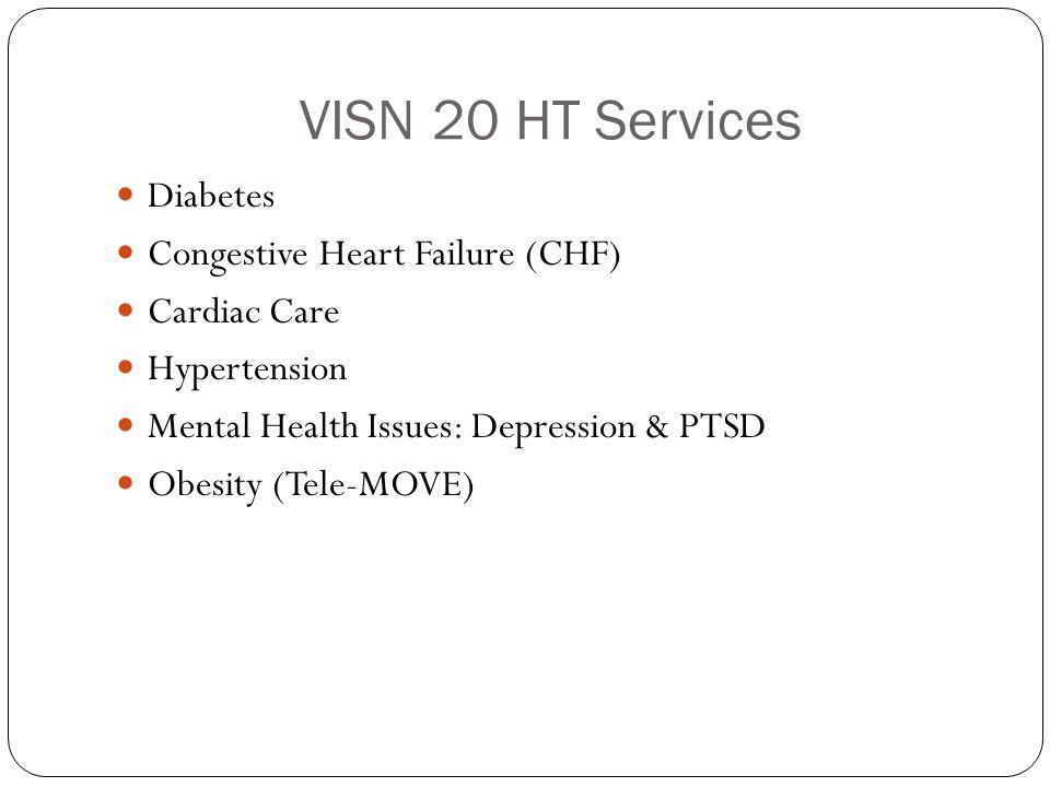 VISN 20 HT Services Diabetes Congestive Heart Failure (CHF)