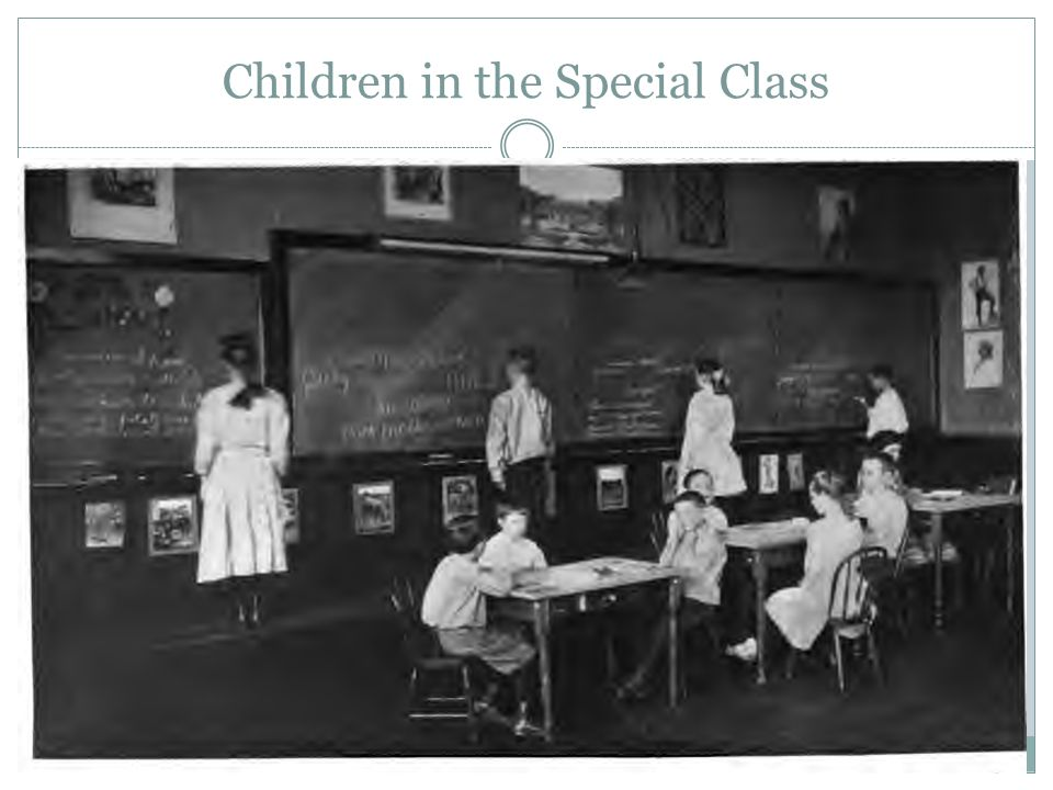 Children in the Special Class