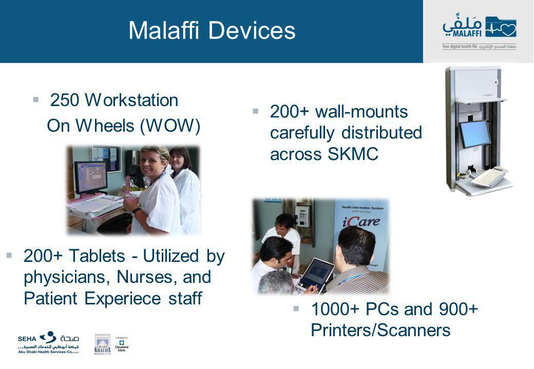 Malaffi Devices 250 Workstation On Wheels (WOW)