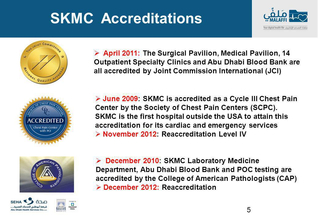 SKMC Accreditations