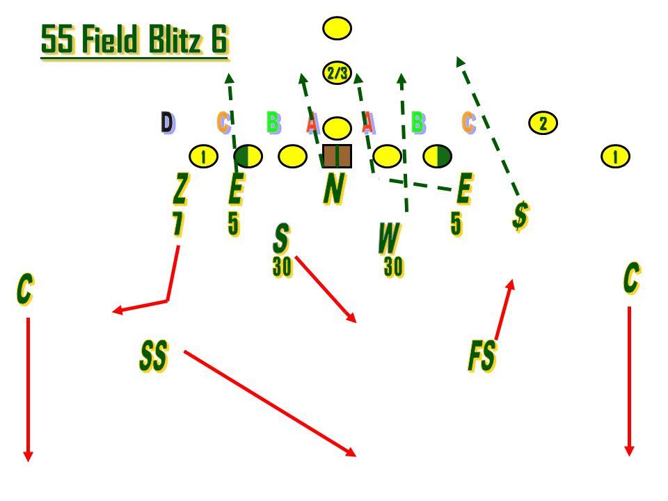 55 Field Blitz 6 Z E N E $ S W C C SS FS 7 5 5 2 1 1 30 30 2/3 D C B A