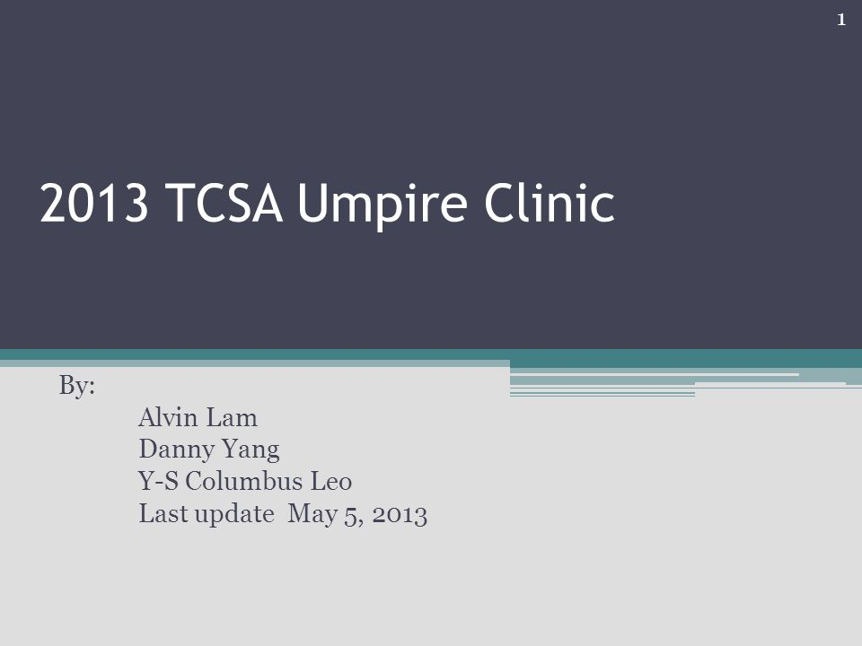 By: Alvin Lam Danny Yang Y-S Columbus Leo Last update May 5, 2013